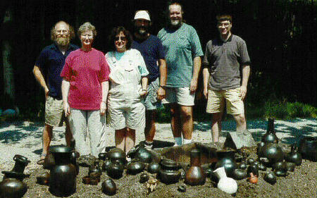 (group photo with pots)